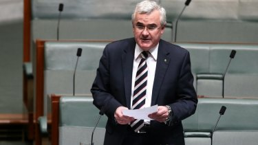 "Independent MP Andrew Wilkie: ""Bad things happen when people are forced into silence."""