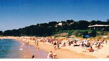 Portsea Beach in the 1960s.