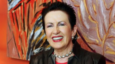 The art of secrecy: Lord mayor Clover Moore.