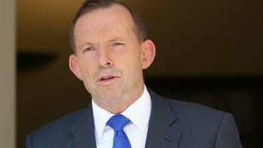 Decline: Female board representation is falling under Tony Abbott.