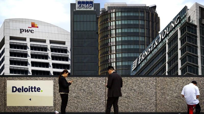 Deloitte, KPMG and PwC swarm over AMP