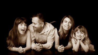 The Perth father-of-two is battling an aggressive form of cancer.