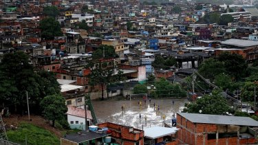 Away from the TV cameras and manicured pitches, football is a way for Brazil's favela dwellers to escape the harsh reality of their lives.