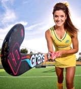 In play: Hockeyroo Anna Flanagan has been told by the AOC she is eligible for Olympic selection despite her drink-driving conviction.