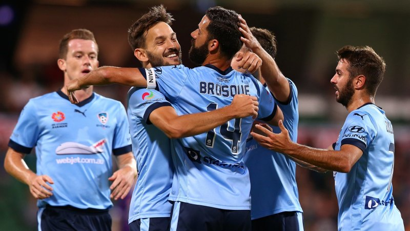 Sydney FC Too Good For Perth Glory Stretch Lead At Top Of