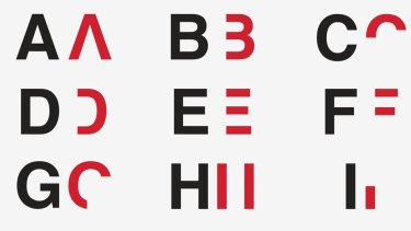 Daniel Britton has created an alphabet that shows people what it's like to have dyslexia.