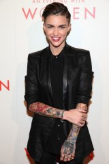 Actress Ruby Rose has long spoken out about identifying as gender fluid.