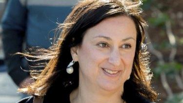 Journalist Daphne Caruana Galizia