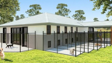 """John Grima said the proposed dog breeding facility was not a puppy farm and will """"significantly improve animal welfare outcomes"""""""