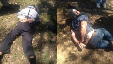 Police arrested Gino and Mark Stocco at a property near Dunedoo in October last year.