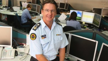 Corrupt finding: Former SES commissioner Murray Kear.