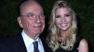 Media baron Rupert Murdoch (left) has longstanding ties with President Donald Trump, and his daughter, Ivanka (right)