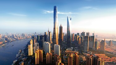 Shanghai Tower.