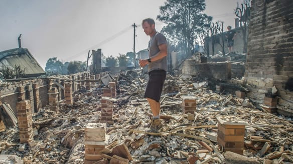 'All gone within half an hour': Family home obliterated in Tathra fire