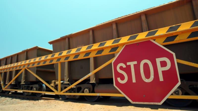Mineral Resources suffers derailment, BHP trains start rolling