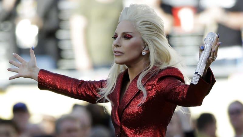 Nfl 2016 Super Bowl 50 Lady Gaga Belts Out Best Star