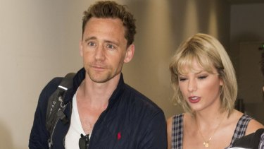 Tom Hiddleston and Taylor Swift have arrived in Australia.