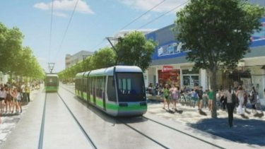 Construction of Canberra's light rail line is due to begin before next year's ACT election.