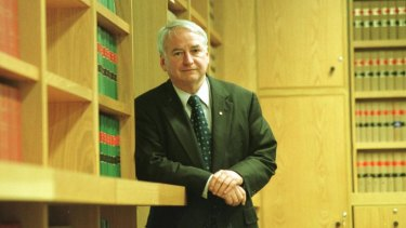 Corruption fighter Tony Fitzgerald is part of a push to clean up Canberra.