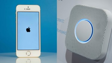 Apple's HomeKit may soon let iPhones control home appliances, which could help the company compete with Google's Nest line of products.