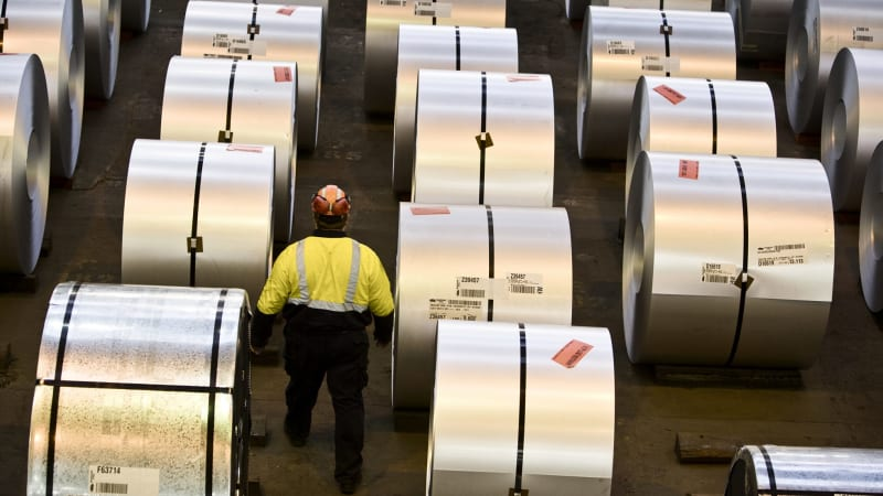 BlueScope's US steel rivals fire up