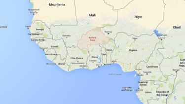 Burkina Faso is landlocked in western Africa, north of Ghana.