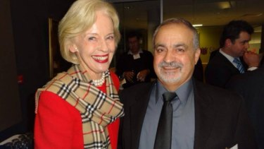 Elie Issa with former Governor-General Quentin Bryce.