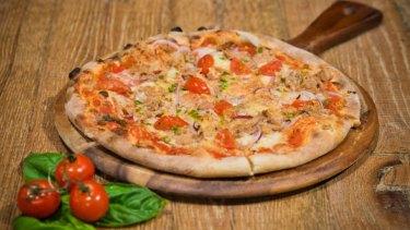 New York pizza food