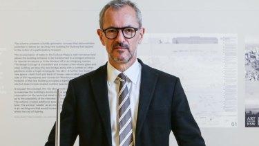Art Gallery of NSW director Michael Brand.