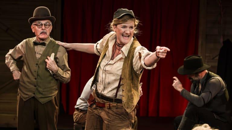 Virginia Gay is outstanding as Calamity Jane.
