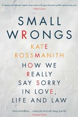 Small Wrongs. By Kate Rossmanith.