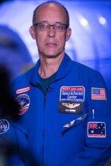 Ken Silburn at Space Camp in Huntsville, Alabama.