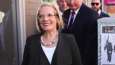 Lucy Turnbull is facing criticism for being unaware of the devastation being caused in Haberfield.