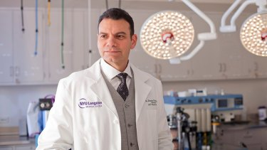 Dr. Eduardo D. Rodriguez led the team of over 100 medical professionals who performed Mr Hardison's face transplant.