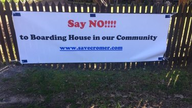 Some residents are campaigning against a low-cost housing plan in Cromer.