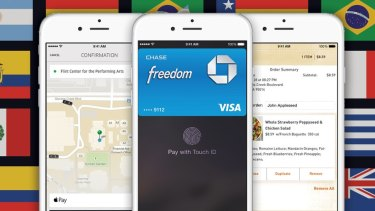 Australians will be able to use Apple Pay this year, according to Visa and MasterCard.