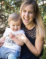 Genevieve Lennon with her two-year-old son Matthew who suffers from hip dysplasia.