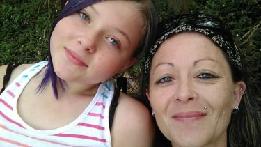 Jane Towers, right, was killed in the crash at Berry. Her daughter, Khloe, is in hospital.