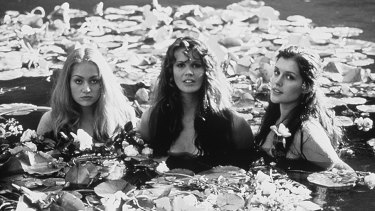Movie role: Portia De Rossi, Elle Macpherson and Kate Fischer in Sirens.