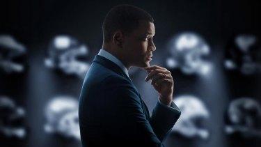 Actor Will Smith in the movie <i>Concussion</i>.