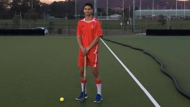 Niranjan Gupte has been selected in the Australian junior hockey squad.