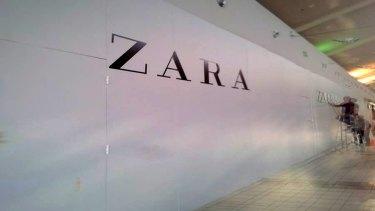 Zara store, Canberra.