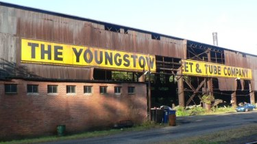 Rustbelt Ohio in decline. Youngstown Sheet and Tube