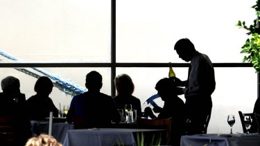 Attitudes about penalty rates can vary according to whether you're serving or being served.