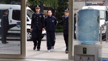 Matthew Ng at Guangdong Supreme Court in 2012.