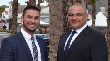Auburn's developer councillors, Salim Mehajer and Ronney Oueik, have been suspended.