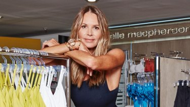 Elle Macpherson has a new lingerie range after two years away from the underwear business.