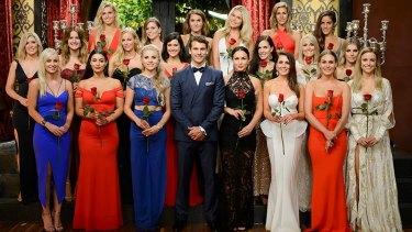 The Bachelor Matty Johnson (Matty J) with the top 20 Bachelorettes.
