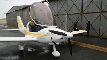 The light aircraft police raided at Deniliquin airport on Wednesday.