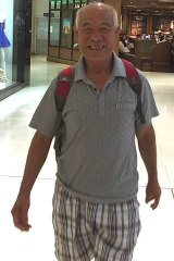 Yichang Liu, 71, disappeared during Chinese New Year celebrations in Sydney.